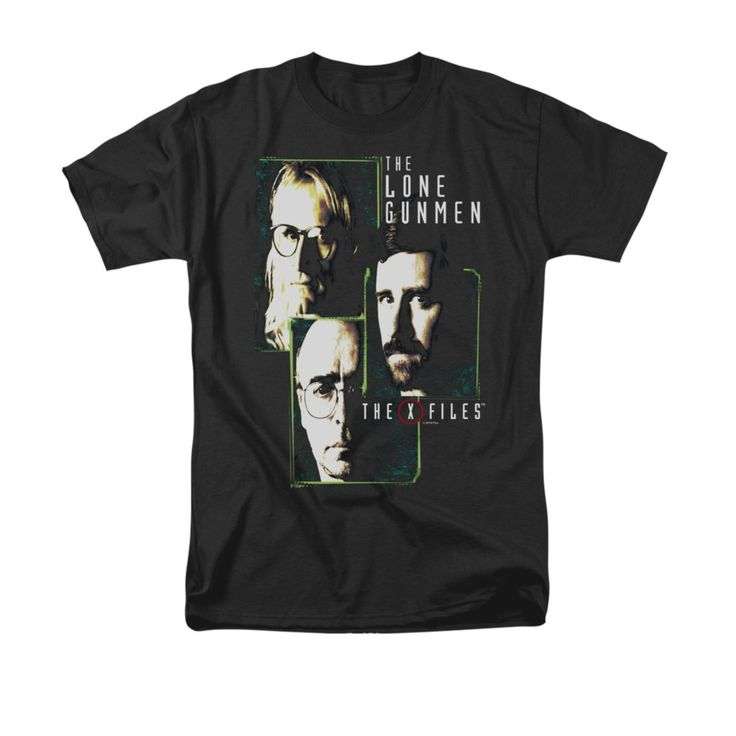 The X-Files Lone Gunmen T-Shirt