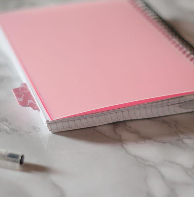 Bullet Journal s'organiser avec un carnet