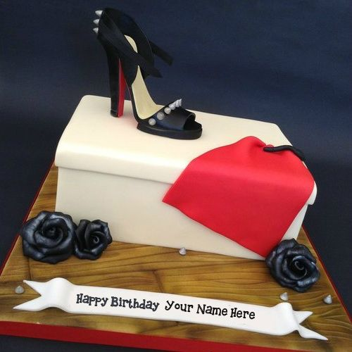 Write your own name on Fashion Birthday Cakes For Girls