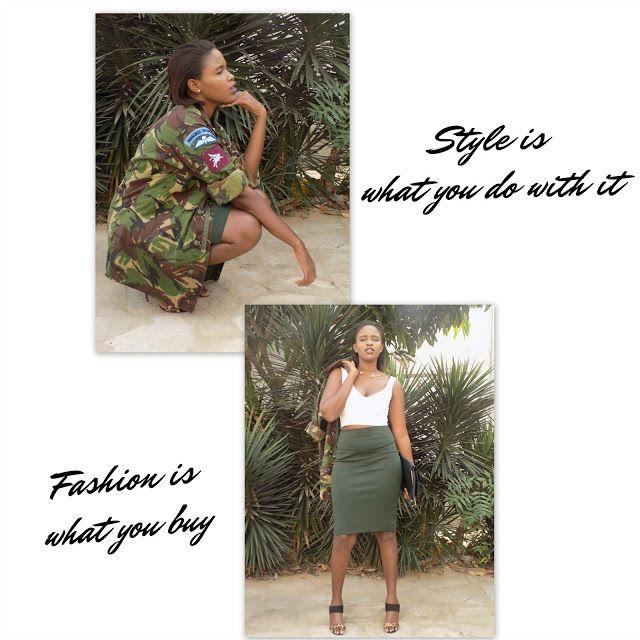 FashionDRA  Lookbook : 02 ways to style a camo jacket