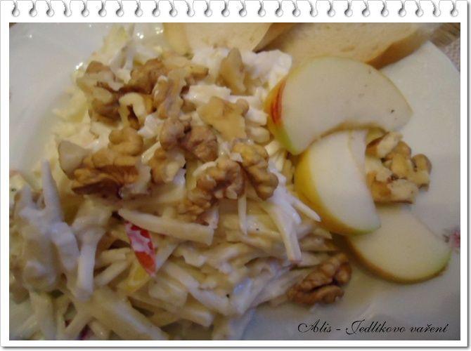 Jedlíkovo vaření: Rychlý celerový salát