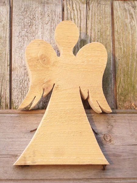 Deko-Objekte - Engel aus Holz HOLZ-ENGEL Engel aus Holz - ein Designerstück von Herzwerkstatt bei DaWanda