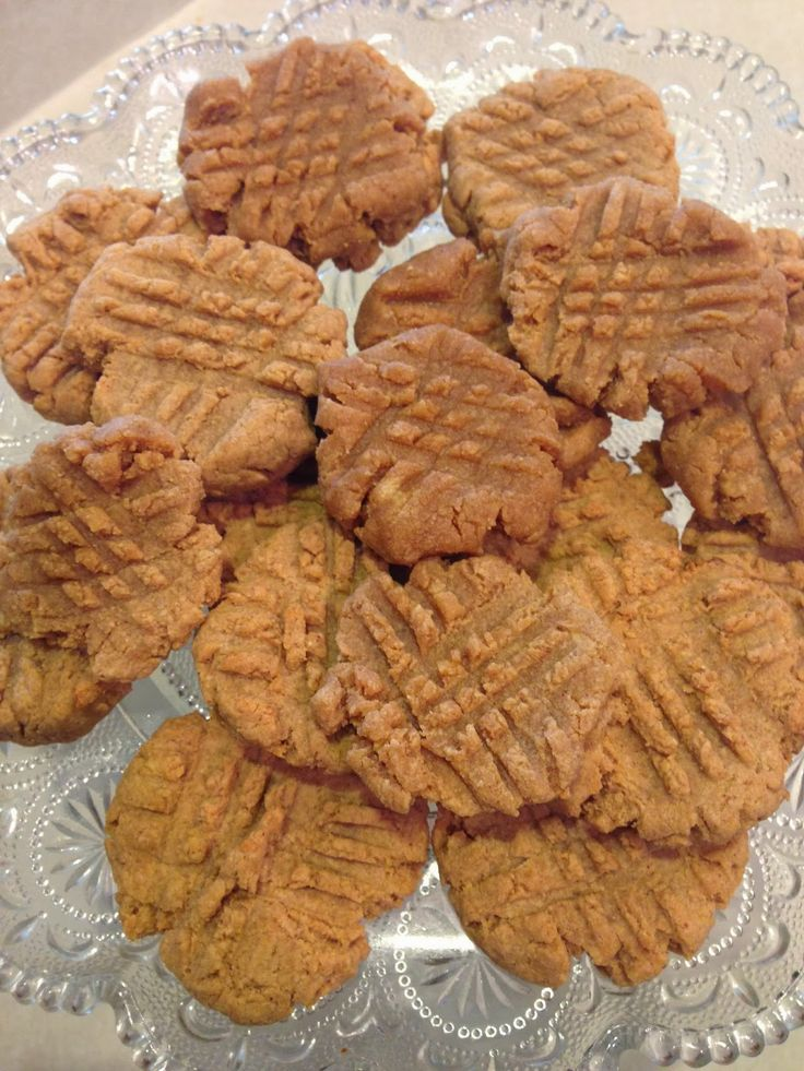 Bridgette Nicole: Protein Powder Peanut Butter Cookies