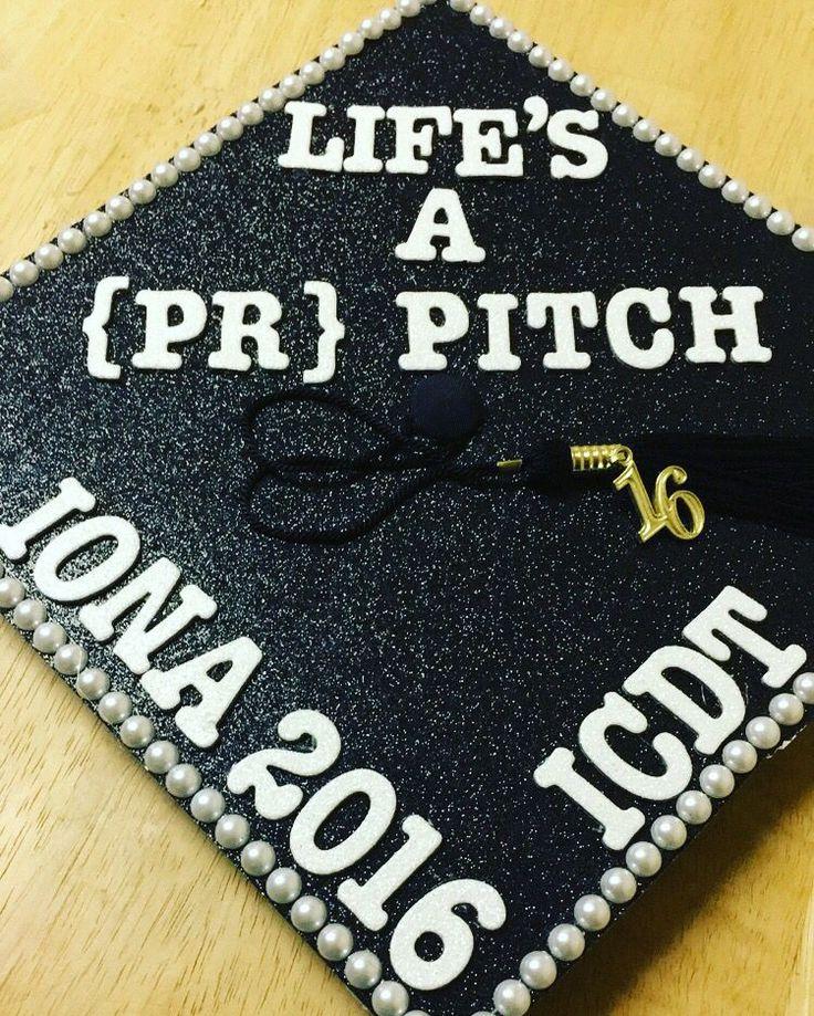 Public relations graduation cap pr graduation gradcap