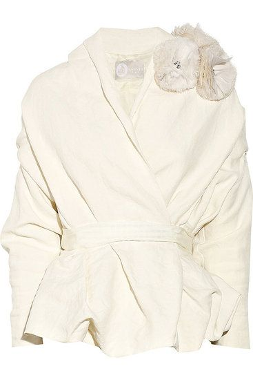 Another Winter wedding find... this gorgeous Lanvin jacket is so elegant and chic.