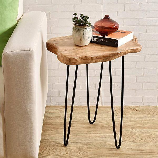 Dog Crate Living Room Dogcratelivingroom Rustic End Tables Wood End Tables Side Table Wood #tall #living #room #table