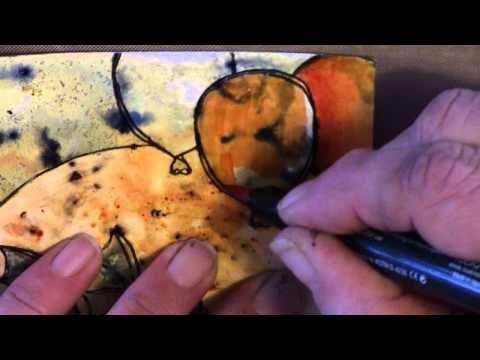 Stampinback Tutorial Blog kleuren en ontkleuren