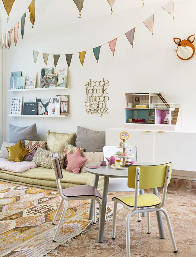 Colourful kids playroom inspiration