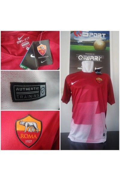 Jersey AS Roma Prematch Maroon 2015