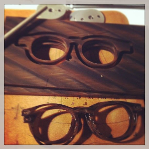 This is how a pair of glasses comes to life...#ArmaniEyewear Launch event #Luxottica #Craftsmanship