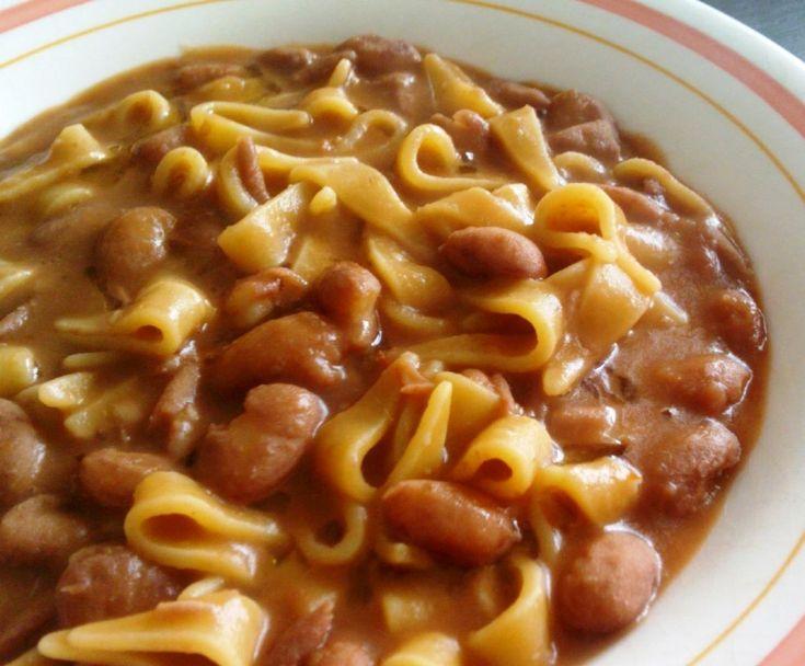 Maltagliati with beans Recipe: http://www.turismo.ra.it/eng/Flavours/Traditional-recipes/Maltagliati-with-beans  [ #ravenna #myRavenna #traditionalrecipes #ricettetradizionali]