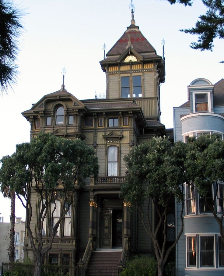victorian painted lady porch - photo #21