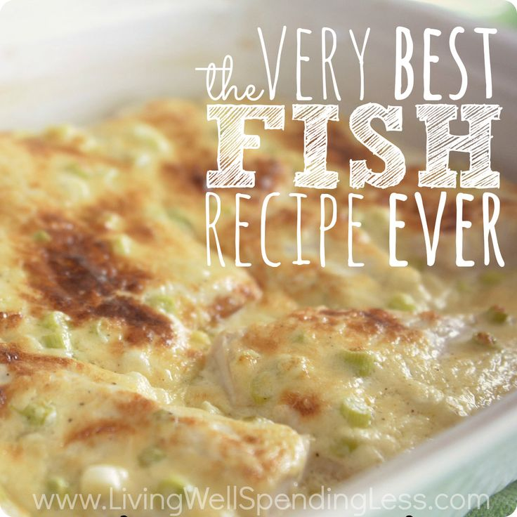 This simple recipe takes the mystery out of cooking fish is pretty much foolproof! It works with any type of seafood and seriously makes the best fish I have ever had! So easy sooooo good!