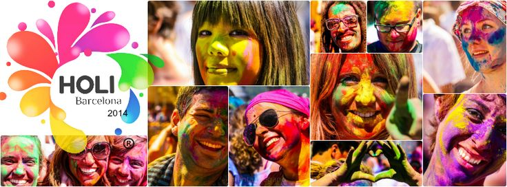 The Holi Barcelona invited people to celebrate art and colors with Indian music and dance provided as a great entertainment.