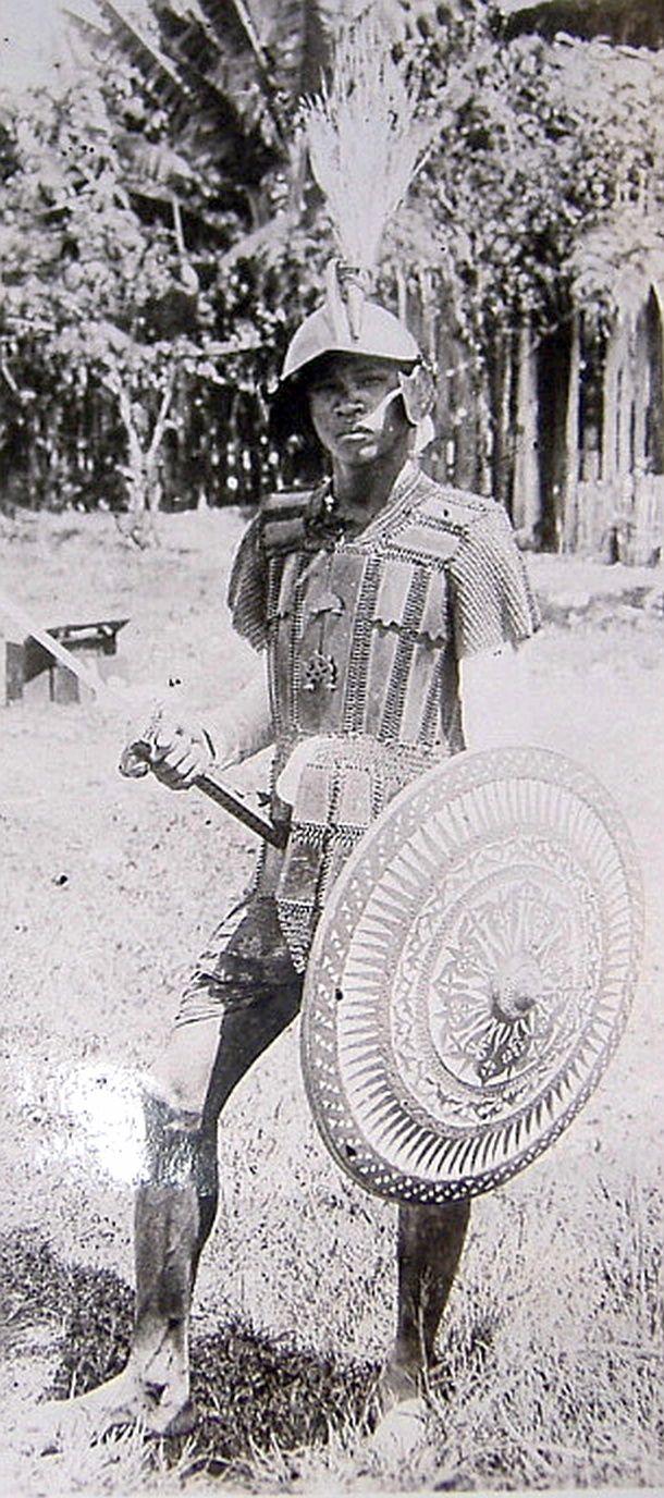 Philippine (Moro) and Indonesian armor.