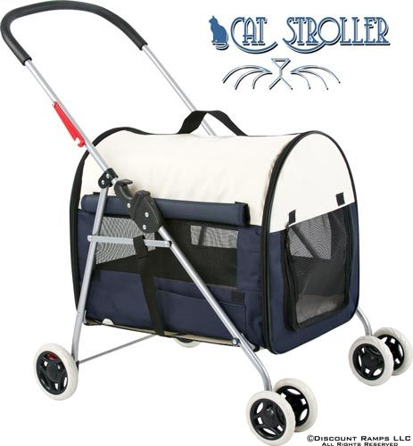 Cat Stroller - hope people don't laugh at me for thinking about this!
