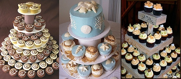 Wedding Cake and Cupcake Decorating Ideas cup-cake-towers