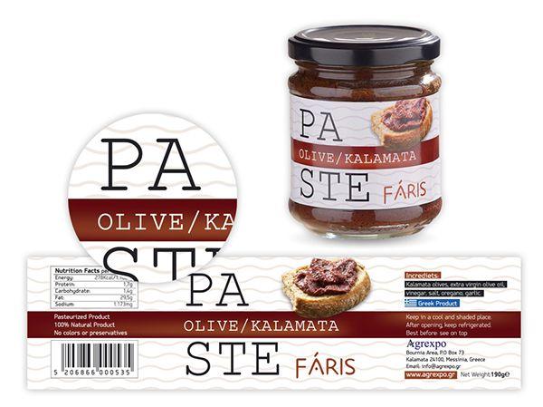 Faris label design
