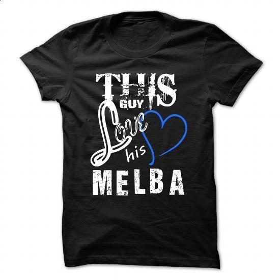 This Girl Love Melba - Cool T-Shirt !!! - #volcom hoodies #custom t shirt design. BUY NOW => https://www.sunfrog.com/LifeStyle/This-Girl-Love-Melba--Cool-T-Shirt-.html?id=60505