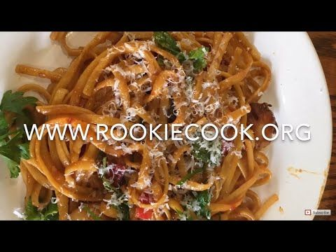 Seafood Linguine - Rookie Cook