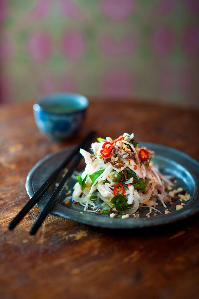 Chicken salad with cabbage and Vietnamese mint (goi ga) - Luke Nguyen