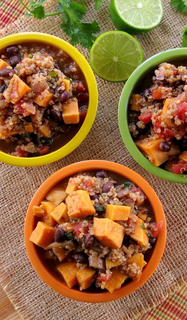 ... Bean and Quinoa Chili   Recipe   Black Bean Chili, Bean Chili and