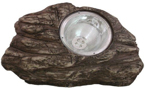 "Solar Powered Stone Solar Spot Light (4LED) by BeGreenWithSolar.com. $18.43. - This brown rock spotlight creates a unique addition to your landscape. - Approx. Size: 6"" x 5"" x 4"" H. - Super-Bright LED Light, with Lifetime of Over 100,000 Hours. - Solar Powered Panel with Rechargeable AA Ni-Cd Batteries Installed. - Single Charge Provides 8-10 Hours of Light. Our solar rock lights provide efficient, solar lighting to any outdoor space, and with a variety of mode..."