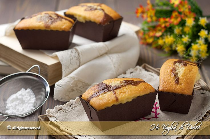 Mini plumcake allo yogurt soffici