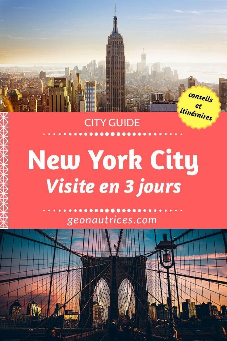 Visiter New York en 3 jours – #en #jours #newyork …