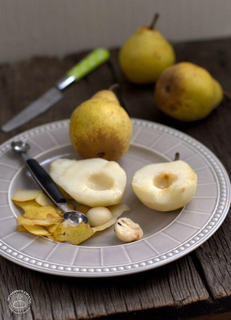 Coring pears