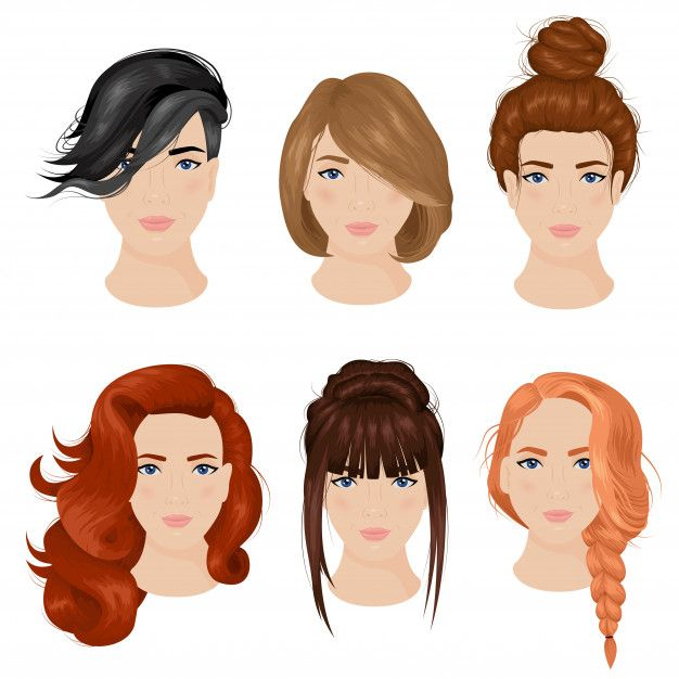 Download Women Hairstyle Ideas 6 Icons Collection For Free Womens Hairstyles Hair Images Icon Collection