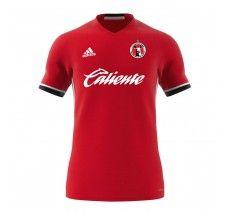 adidas Club Tijuana Xolos Youth Condivo 16 Jersey - Power Red/White