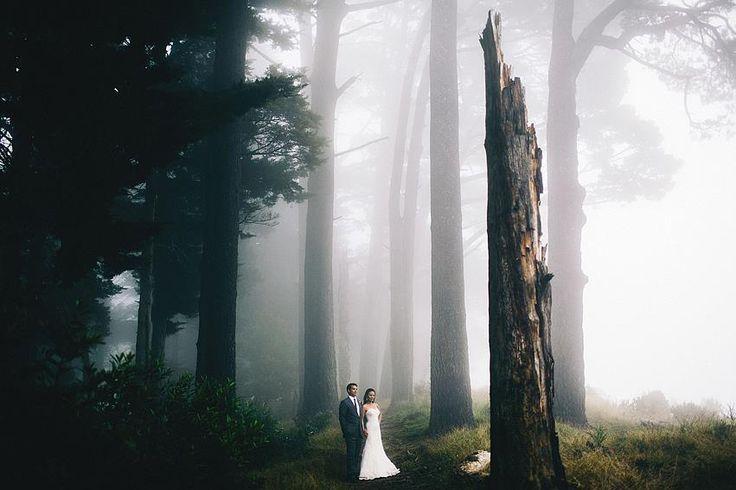 Forest wedding.
