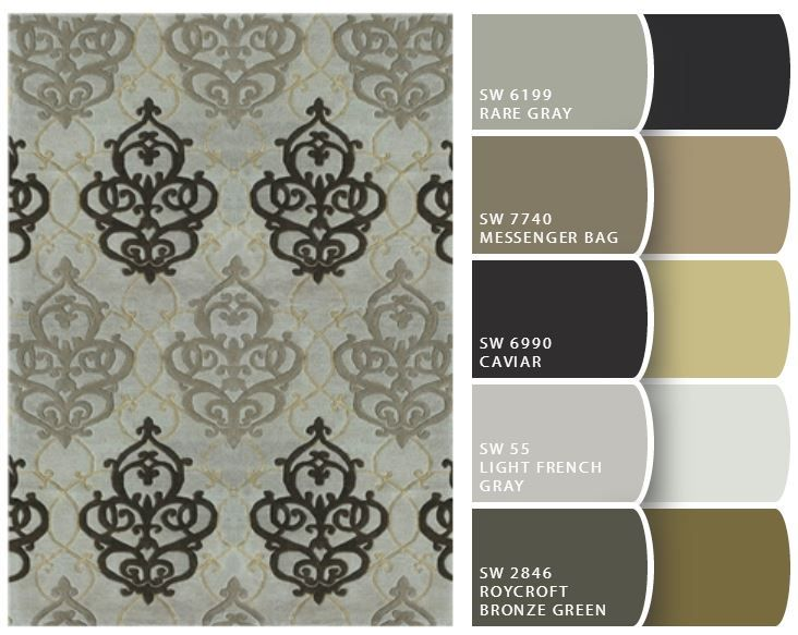130 best Rug Color Palettes images on Pinterest Color palettes