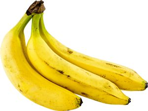 Healthy benefits from eating bananas.