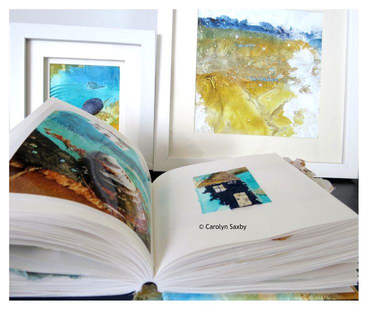 textile art sketchbook - Carolyn Saxby