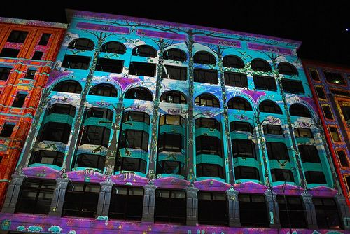 Flinders St projections