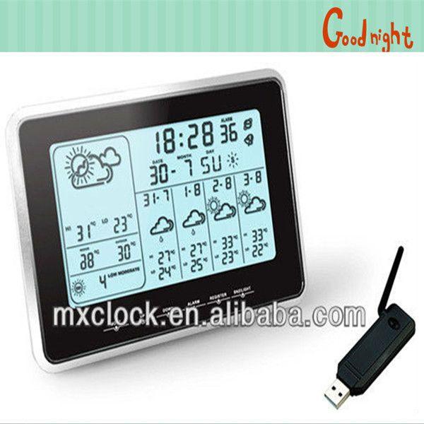 YD8203IE new 5 days weather forecast clock through internet