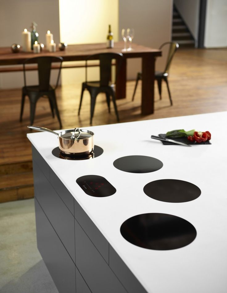 Gorgeous induction hob | Create a striking cooking platform with Caple's C950i multi-zone induction hob | Kitchen style | Daisies & Pie