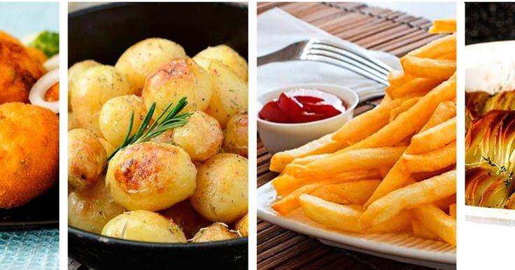 Как приготовить вкусный картофель, а также рецепты из картофеля в трех видах: варим, запекаем и жарим.
