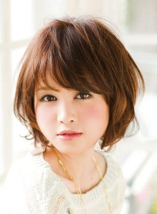 間引きパーマが魅せる極上スイートボブ♥ | 髪型 ヘアスタイル | with online on ウーマンエキサイト