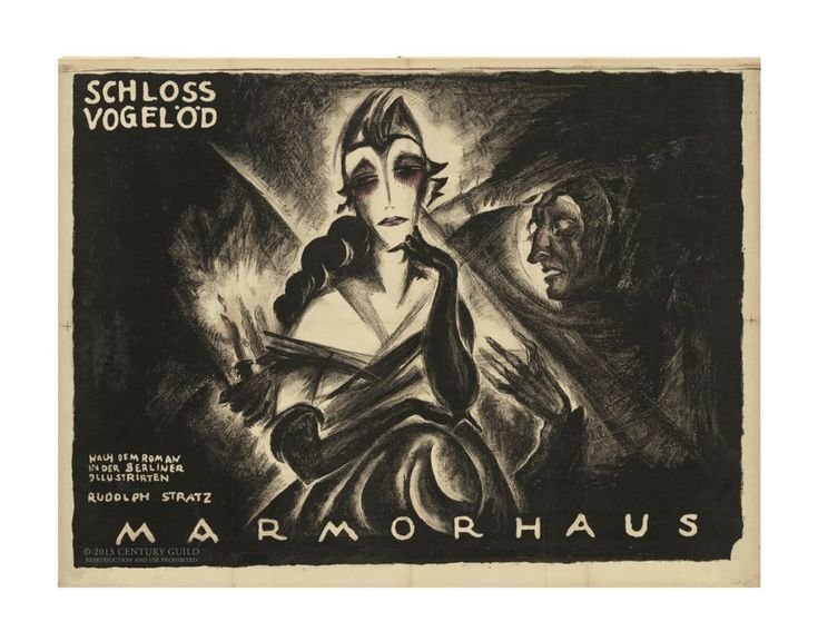 """Schloß Vogelöd"" Haunted Castle (11x14 Patronage Print #13) – Century Guild"