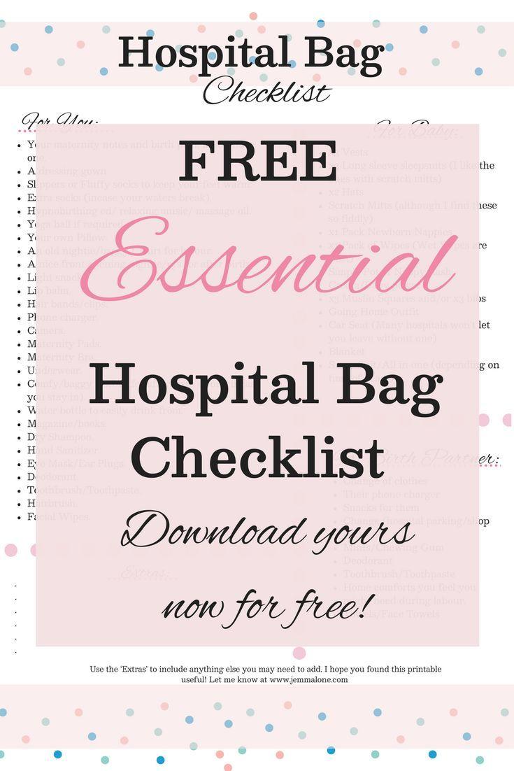 Was Sie in Ihre Krankenhaustasche für Babys packen sollten Drittes Trimester   Geburt geben   Pa …   – Divergence   G&D Lifestyle Board