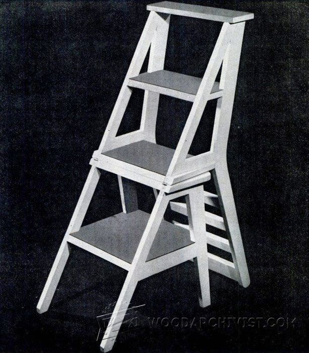 3908 Ladder Chair Plans