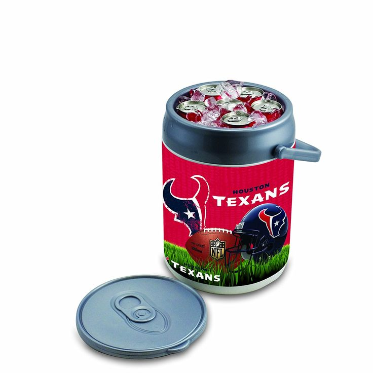 Houston Texans Football Can Coolers
