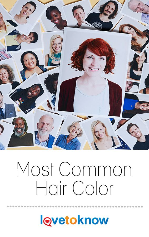 d72237ade36 If you conducted a random poll to guess the most common hair color