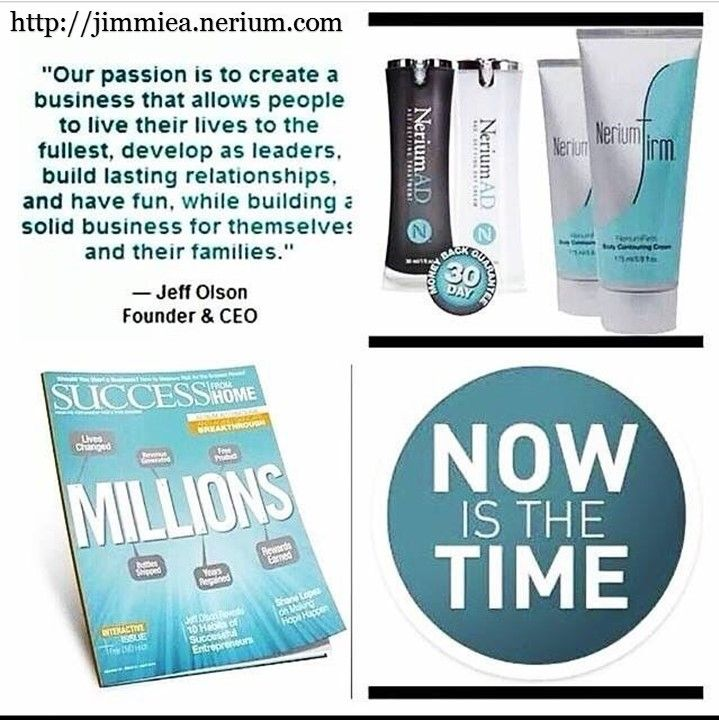 Nerium international offers exclusive age defying skin care products with patented ingredients to help people look younger