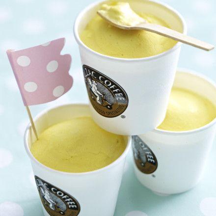 Mango-Joghurt-Eis Rezept ich würde das nächste Mal die Sahne ersatzlos streichen?!