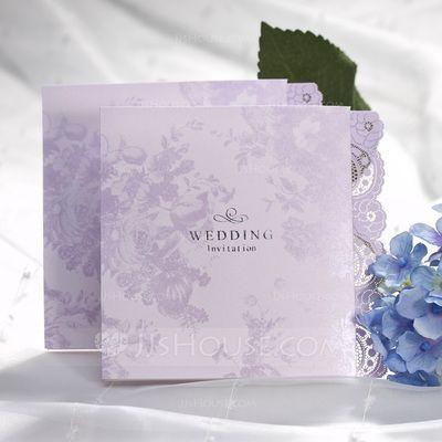 Wedding Invitations - $29.99 - Floral Style Z-Fold Invitation Cards (set of 50) (118042241) http://jjshouse.com/Floral-Style-Z-Fold-Invitation-Cards-Set-Of-50-118042241-g42241