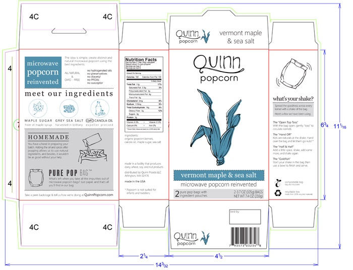 Quinn- package layout
